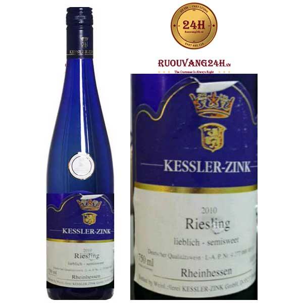Rượu Vang Kessler Zink Riesling Rheinhessen