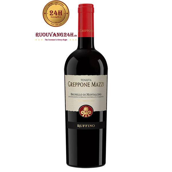 Rượu vang Ruffino Greppone Mazzi Sangiovese Grosso