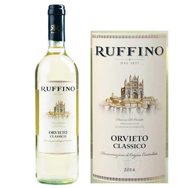 Rượu vang Ruffino Orvieto Classico Grechetto – Trebbiano