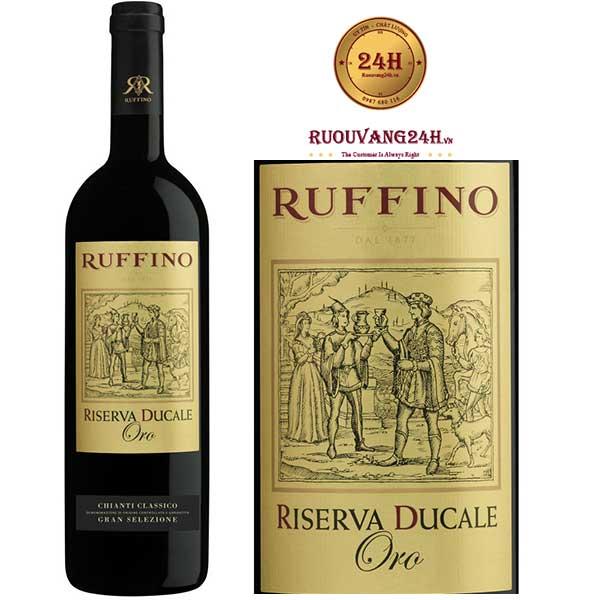 Rượu vang Ruffino Riserva Ducale Oro Sangiovese – Blend