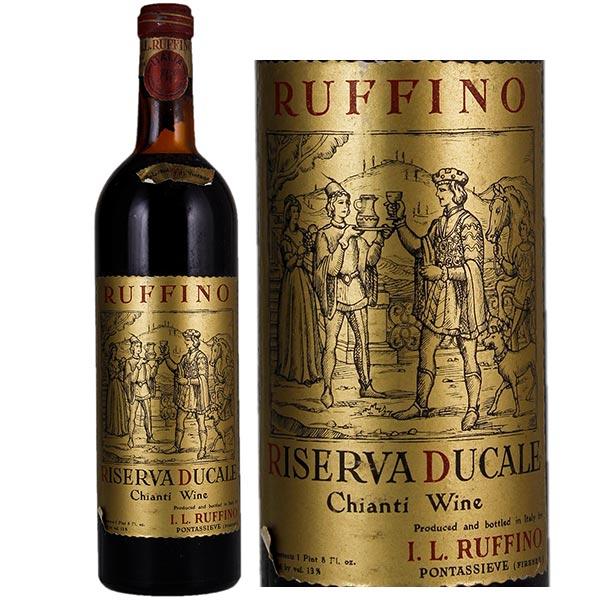 Rượu vang Ruffino Riserva Ducale Sangiovese – Blend