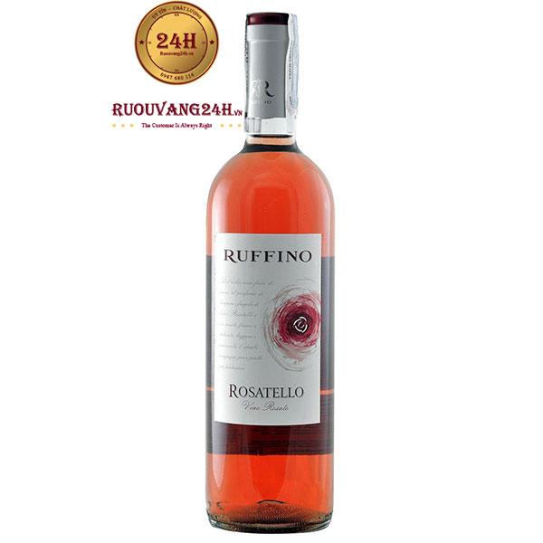 Rượu vang Ruffino Rosatello Rosato Sangiovese – Blend