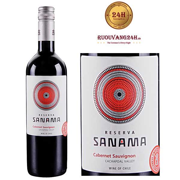 Rượu vang Sanama Cabernet Sauvignon