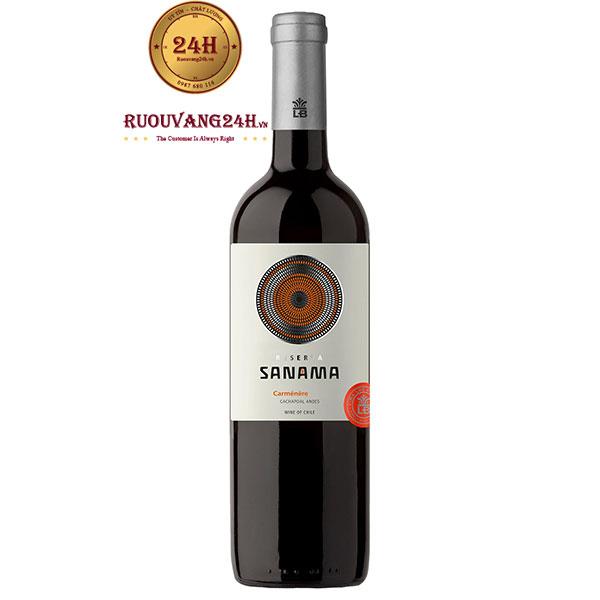 Rượu vang Sanama Carmenere