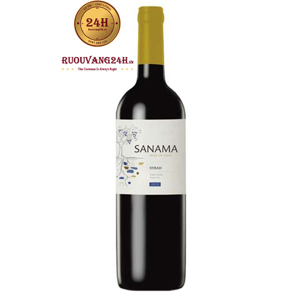 Rượu vang Sanama Shiraz