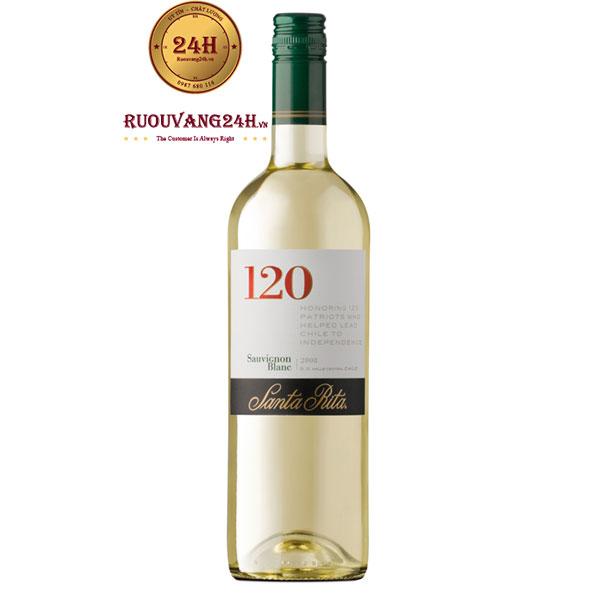 Rượu vang Santa Rita 120 Sauvignon Blanc