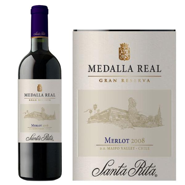 Rượu Vang Chile Medalla Real Merlot