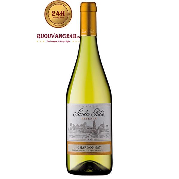 Rượu Vang Trắng Santa Rita Reserva Chardonnay