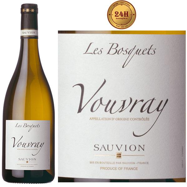 """Rượu vang Sauvion """"Les Bosquets"""" Vouvray"""