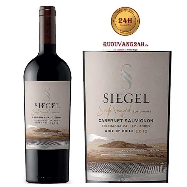 Rượu vang Siegel Single Vineyard Cabernet Sauvignon