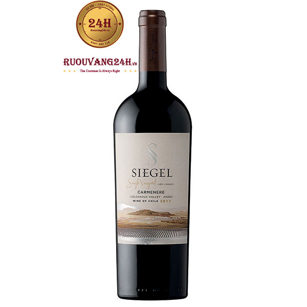 Rượu vang Siegel Single Vineyard Carmenere