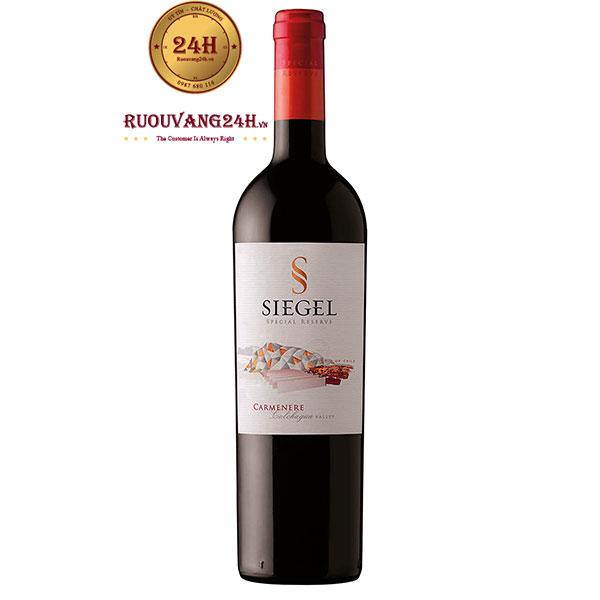 Rượu vang Siegel Special Reserve Carmenere