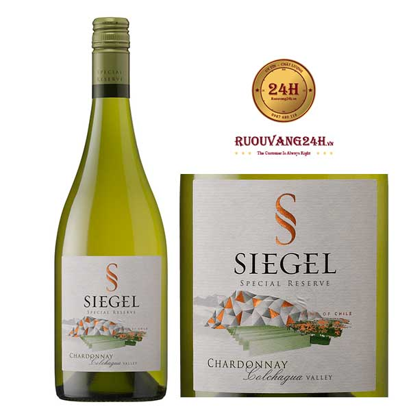 Rượu vang Siegel Special Reserve Chardonnay