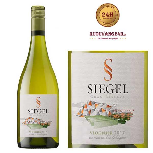 Rượu Vang Chile Siegel Special Reserve Viognier