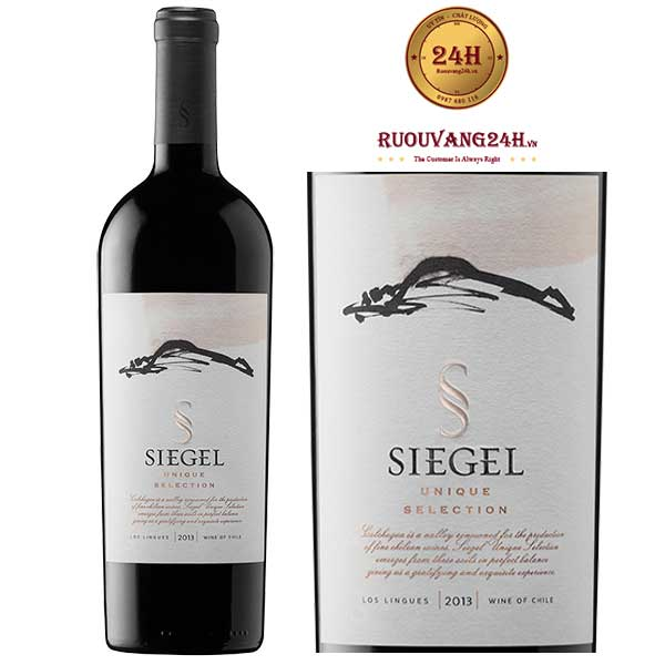 Rượu vang Siegel Unique Selection