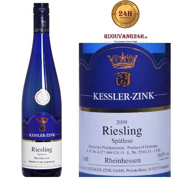 Rượu vangSpätlese Riesling Sweet Wine Blue Edition
