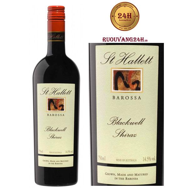 Rượu vang St Hallett Blackwell Shiraz