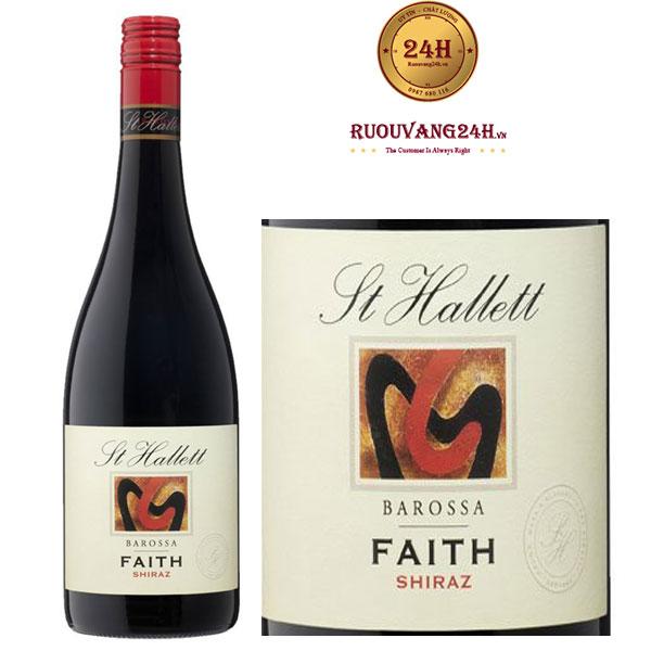 Rượu vang St Hallett Faith Shiraz