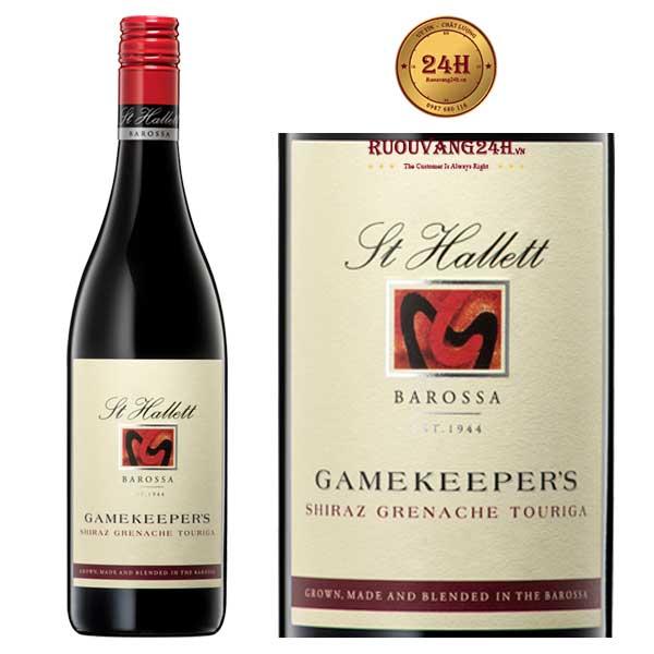 Rượu vang St Hallett Gamekeeper's Shiraz – Grenache – Touriga Nacional