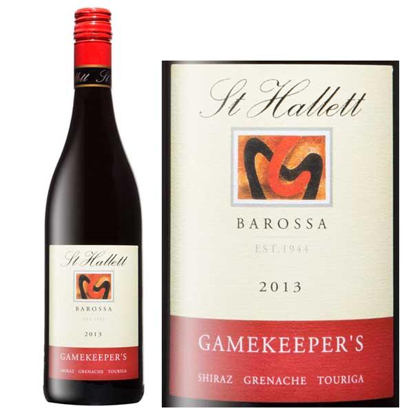 Rượu vang St Hallett Gamekeeper's Shiraz