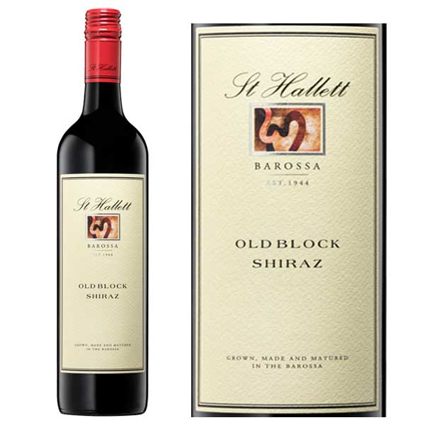 Rượu vang St Hallett Old Block Shiraz