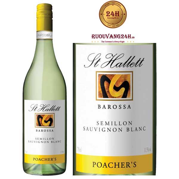 Rượu vang St Hallett Poacher's Semillon - Sauvignon Blanc