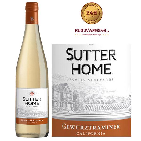 Rượu vang Sutter Home Gewurztraminer