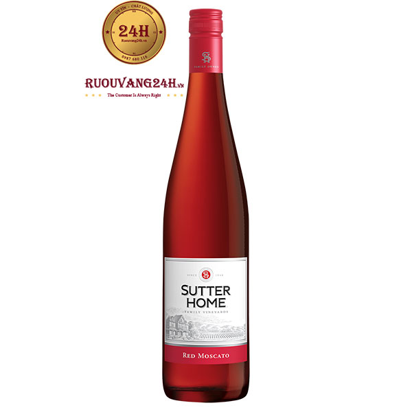 Rượu vang Sutter Home Red Moscato