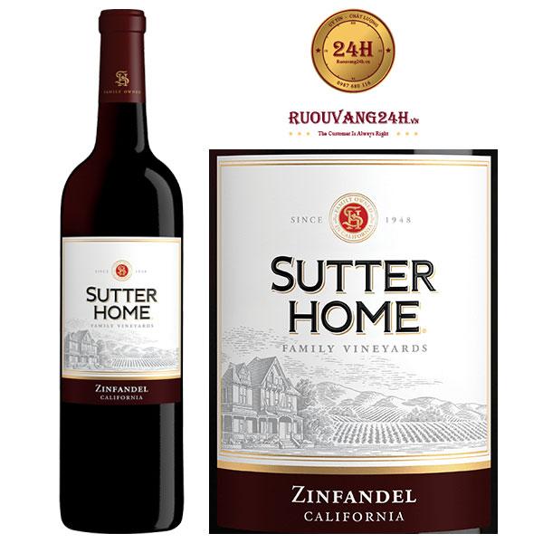 Rượu vang Sutter Home Zinfandel