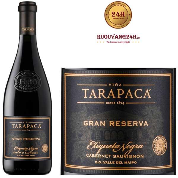 Rượu vang Tarapaca Gran Reserva Black Label Cabernet Sauvignon
