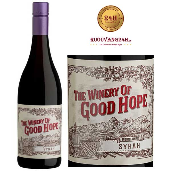 Rượu vang The Winery of Good Hope Mountainside Shiraz