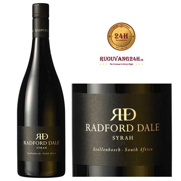 Rượu vang The Winery of Good Hope Radford Dale Syrah