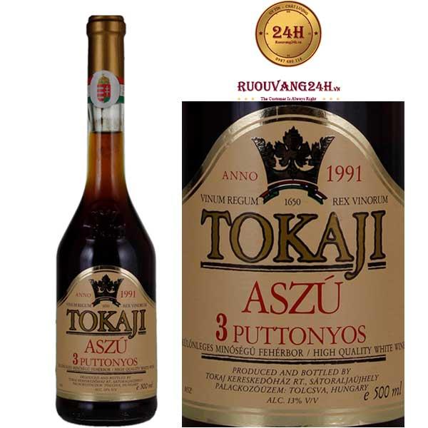 Rượu vang Tokaji Aszú 3 Puttonyos