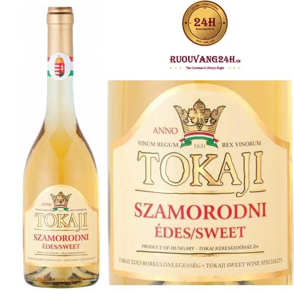 Rượu vang Tokaji Szamorodni Sweet White