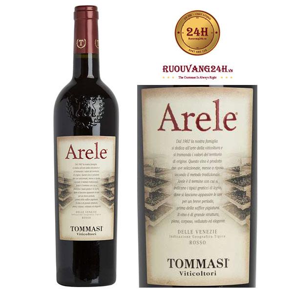 """Rượu vang Tommasi """"Arele"""" Appassimento Delle Venezie IGT"""