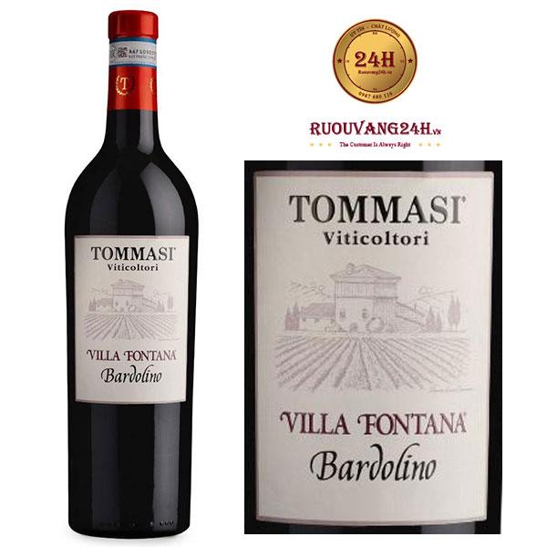 "Rượu vang Tommasi ""Villa Fontana""Bardolino DOC"