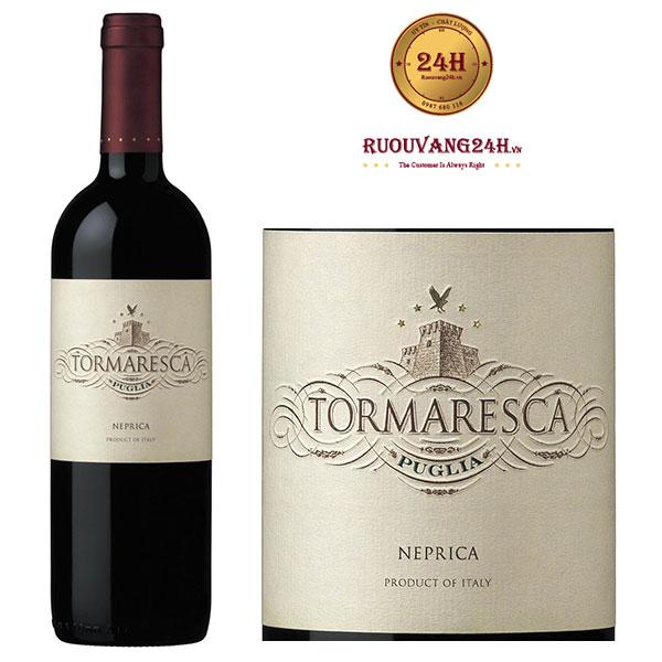 Rượu vang Tormaresca Neprica Puglia IGT