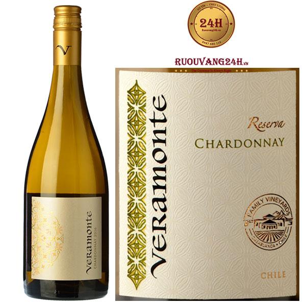 Rượu vang Veramonte Reserva Chardonay