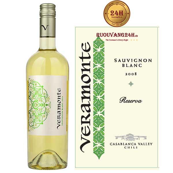 Rượu vang Veramonte Reserva Sauvignon Blanc