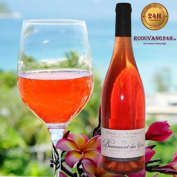Rượu vang Vignerons Ardechois Beaumont des Gras Blend