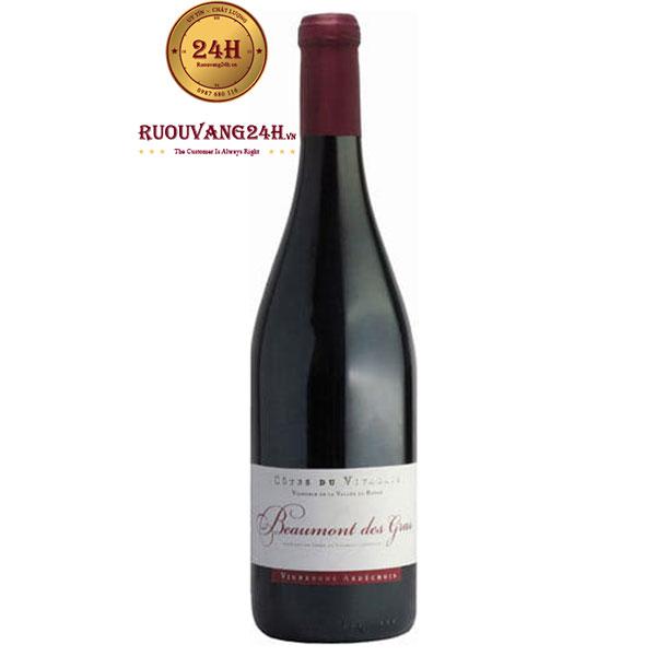 Rượu Vang Beaumont Des Gras Clairette – Marsanne