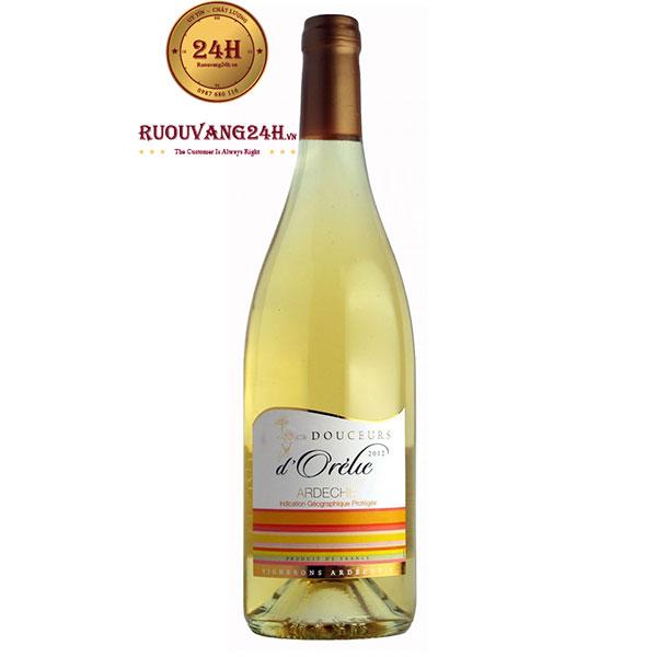 Rượu vang Vignerons Ardechois Douceurs D'Orelie