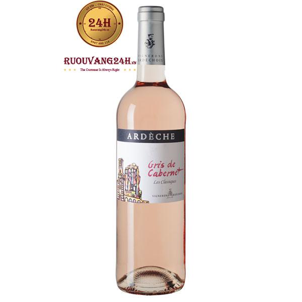 Rượu Vang Ardeche Gris de Cabernet