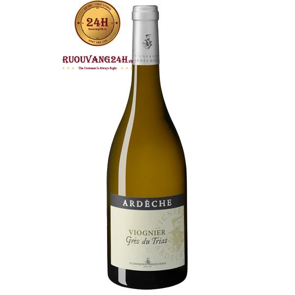 Rượu vang Vignerons Ardechois Les Classiques Viognier