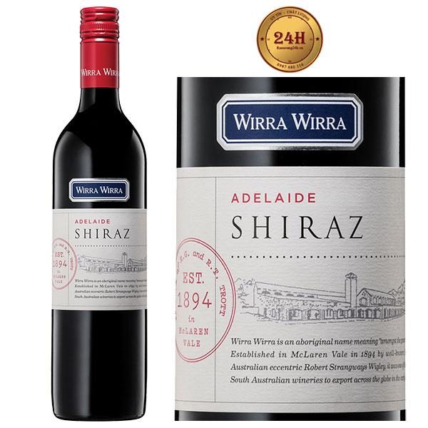 Rượu vang Wirra Wirra Adelaide Shiraz