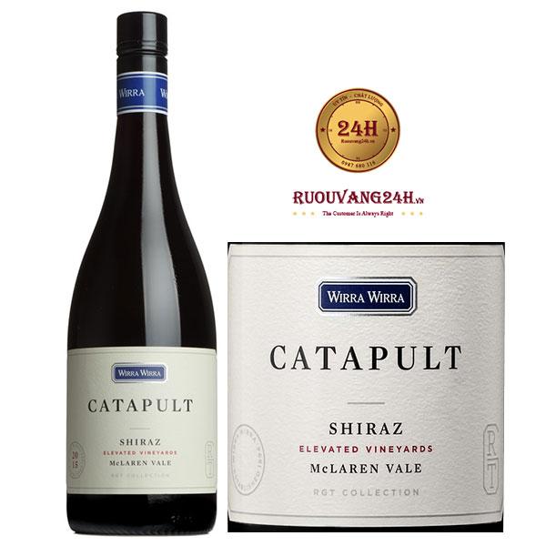 Rượu vang Wirra Wirra Catapult Shiraz