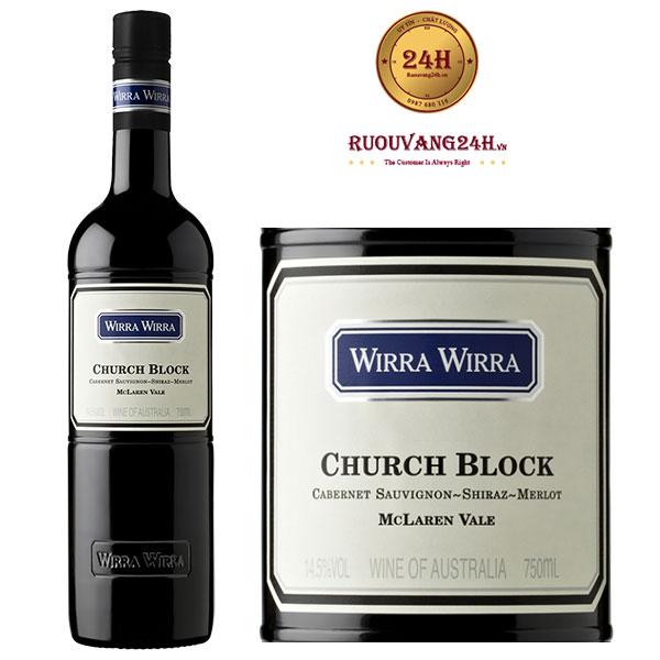 Rượu vang Wirra Wirra Church Block