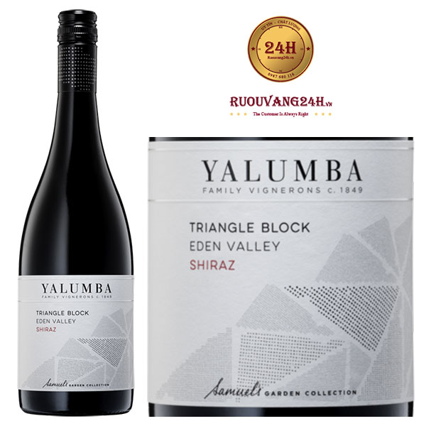 Rượu vang Yalumba Triangle Block Shiraz Viognier