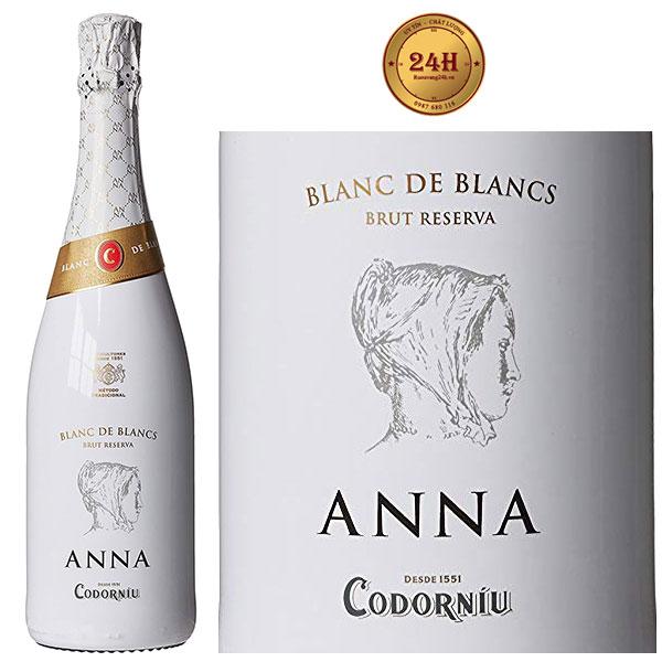 Rượu Vang Anna De Codorniu Blanc de blancs Do Cava