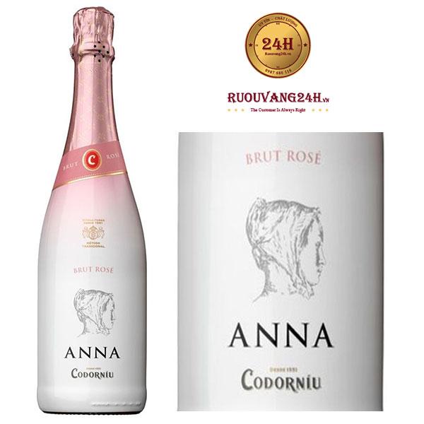 Rượu Vang Anna De Codorniu Brut Rose Do Cava